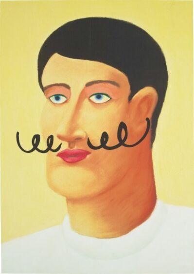 Nicolas Party, 'Portrait with a Mustache', 2013