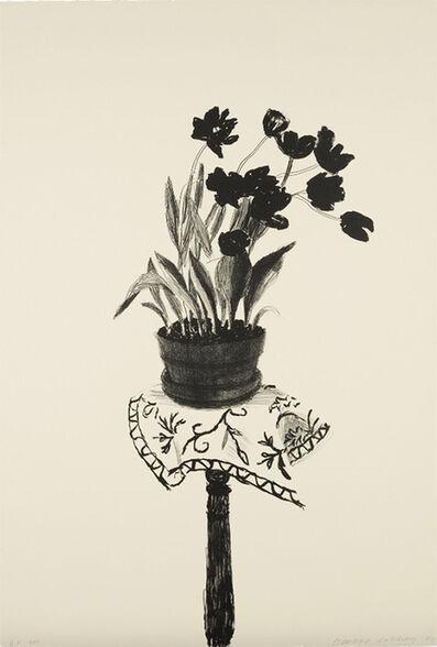 David Hockney, 'Black Tulips', 1980