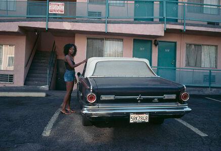 Lise Sarfati, 'Ajibike, La Baig Avenue, From the series On Hollywood', 2009