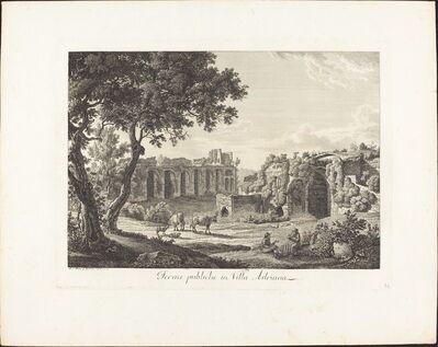 Albert Christoph Dies, 'Terme publiche in villa Adriana', 1794