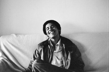 Lisa Jack, 'Barack Obama, Occidental College, No. 2', 1980