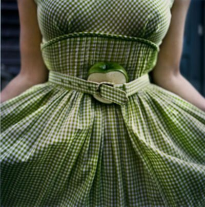 Cig Harvey, 'Gingham Dress With Apple  ', ca. 2003