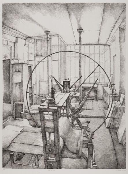 Erik Desmazières, 'Atelier René Tazé', 1979