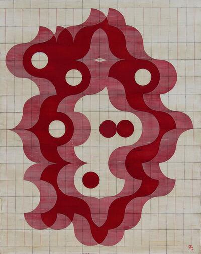 Francisco Castro Leñero, 'Orquidea- desplazamientos', 2017
