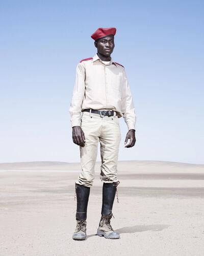 Jim Naughten, 'Herero Soldier in Red Beret', 2012