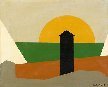 George Copeland Ault, 'City Sunset'