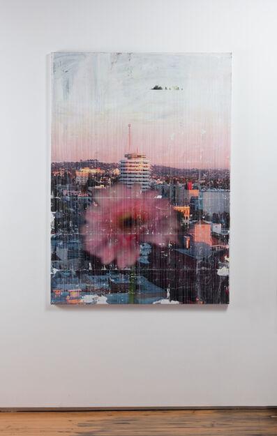 Parker Ito, 'Capitol Records Shit Toots (pink gerbera)', 2016