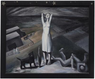 Ida O'Keeffe, 'Star Gazing in Texas', 1938