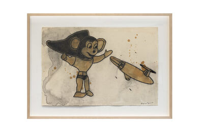David Lynch, 'Mighty Mouse and Spaceship', 2012
