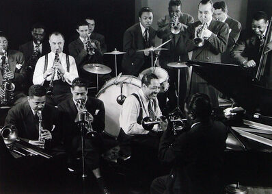 Gjon Mili, 'Duke Ellington Jam Session', 1943