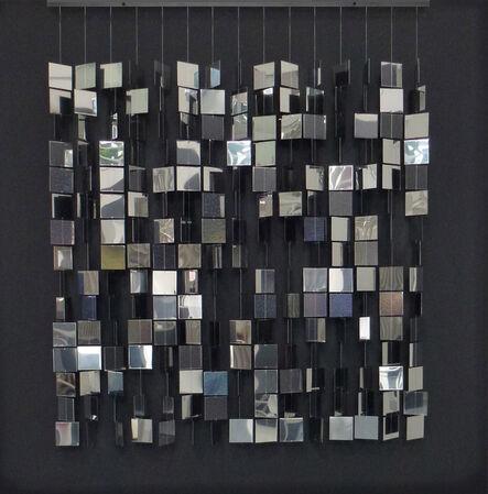 Julio Le Parc, 'Mobile argent sur noir', 1960