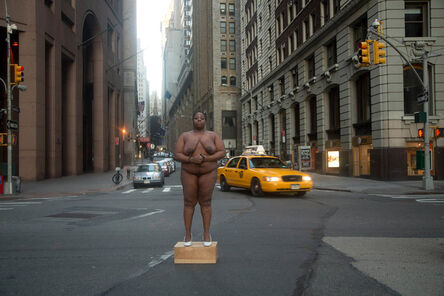 """Nona Faustine, 'From Her Body Sprang Their Greatest Wealth, from the """"White Shoes"""" series', 2013"""