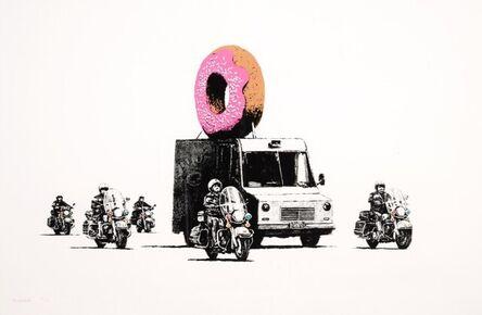 Banksy, 'Donut (Strawberry)', 2009