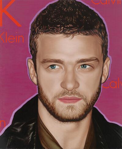 Richard Phillips, 'Most Wanted (Justin Timberlake)', 2010