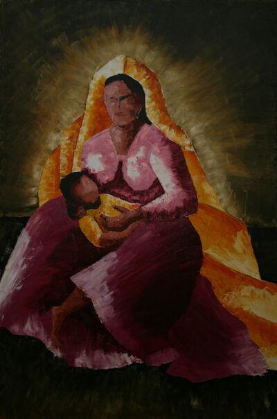 "Alpana Mittal ""Tejaswini"", 'Mother and Child', 2001"