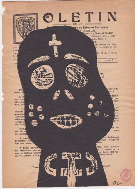 Victoria Behm, 'Boletin (Untitled Mask)', 2012