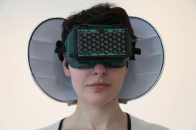 Aisen Caro Chacin, 'Echolocation Headphones', 2012