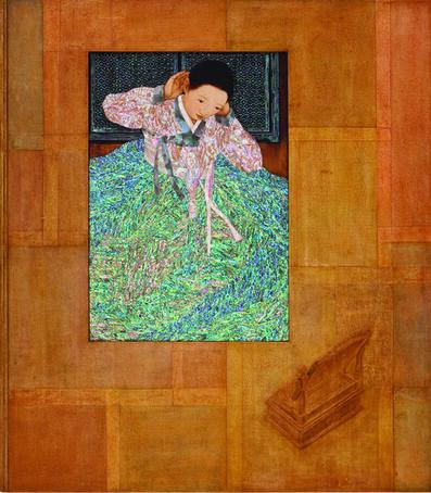 Kim Duck Yong, 'A woman - transcend time', 2009