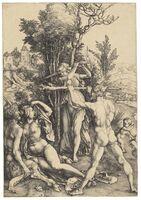Albrecht Dürer, 'Hercules at the Crossroads (B. 73; M., Holl. 63; S.M.S. 22)', ca. 1498