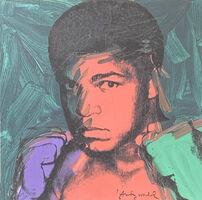 Andy Warhol, 'Muhammad Ali (Green)', 1986