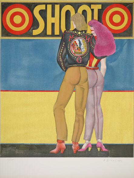 Richard Lindner, 'Shoot from Fun City', 1971