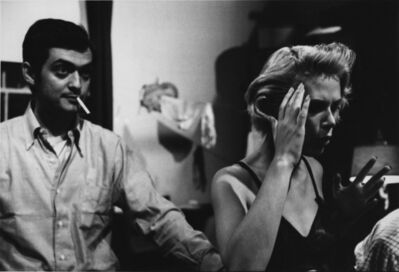 Unknown Artist, 'Stanley Kubrick and Irene Kane on the set of Killer's Kiss', 1955