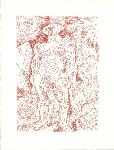 André Masson, 'Le Septieme Chant', 1974