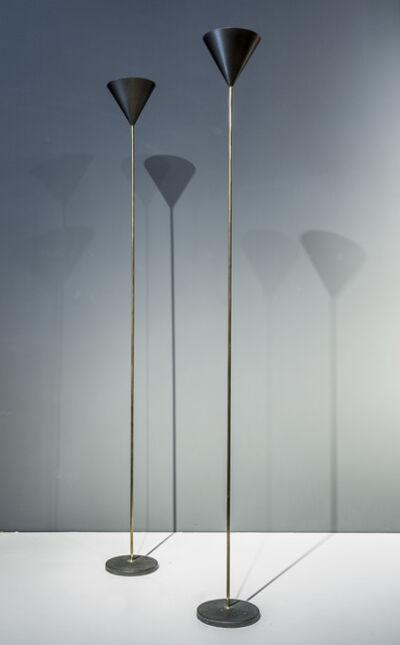 "Luigi Caccia Dominioni, 'floor lamps - model ""LTE5 imbuto""', Designed in 1953-executed end of 1960's"