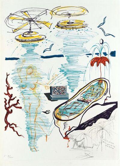 Salvador Dalí, 'Liquid Tornado Bathtub (Imagination & Objects of the Future Portfolio)', 1975
