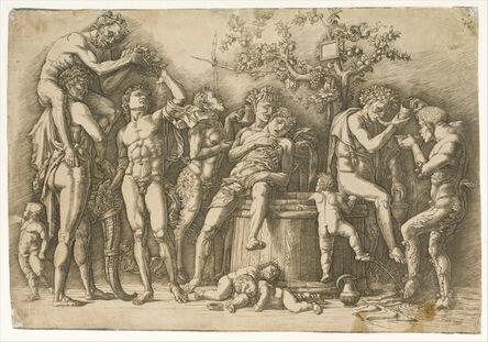 Andrea Mantegna, 'Bacchanal with a Wine Vat', ca. 1470–1490