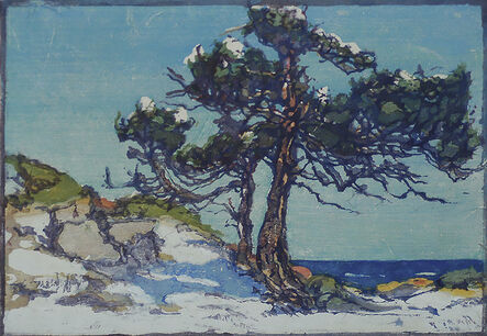 Margaret Jordan Patterson, 'Coast Cedars (2)', ca. 1920