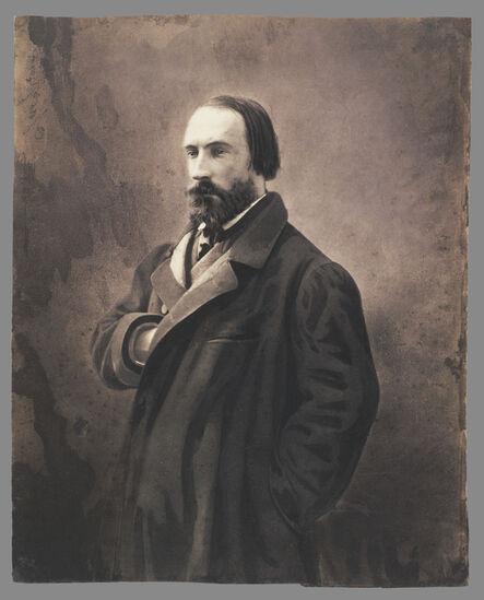 Nadar, 'Auguste Vacquerie}', 1861-1865