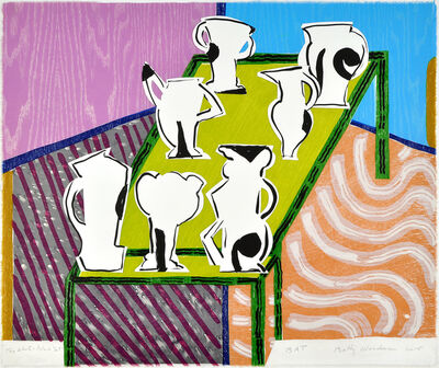 Betty Woodman, 'The White & Black Set', 2015