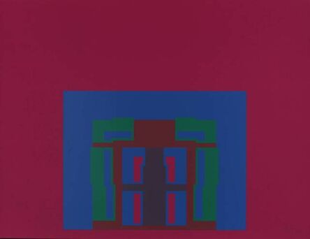 Robyn Denny (1930-2014), 'The Paramount Suite (burgundy)', 1969
