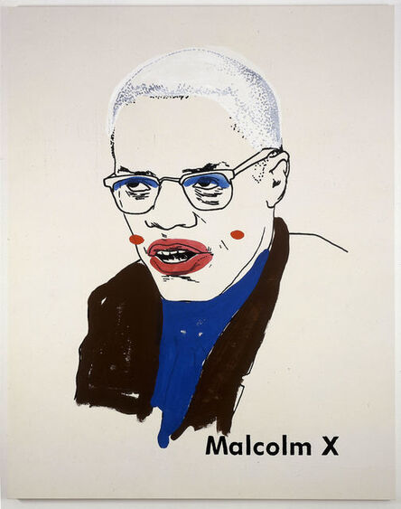 Glenn Ligon, 'Malcolm X #1 (small version #2) ', 2003