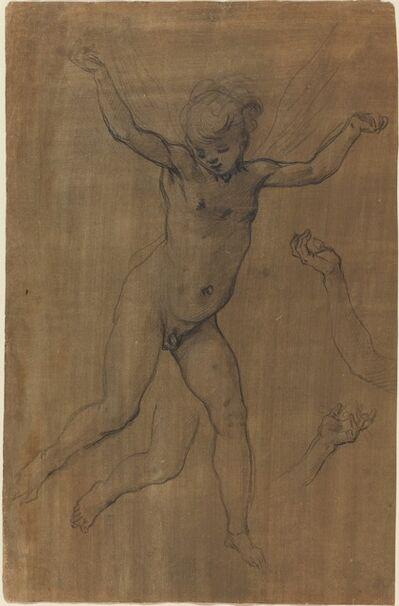 Jacopo Chimenti, 'An Angel in Flight', ca. 1594