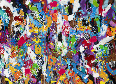 JonOne, 'The Story of a Chair', 2019