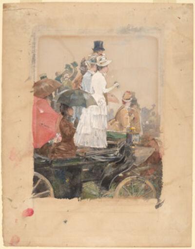 Childe Hassam, 'Spectators at the Grand Prix', 1888