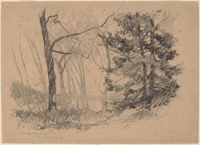 Charles Herbert Woodbury, 'Wood Interior', 1920