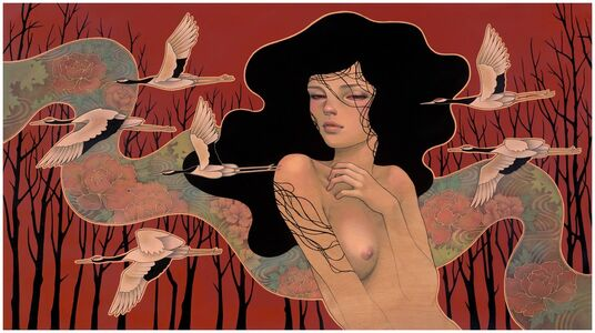 Audrey Kawasaki, 'When It Begins', 2014