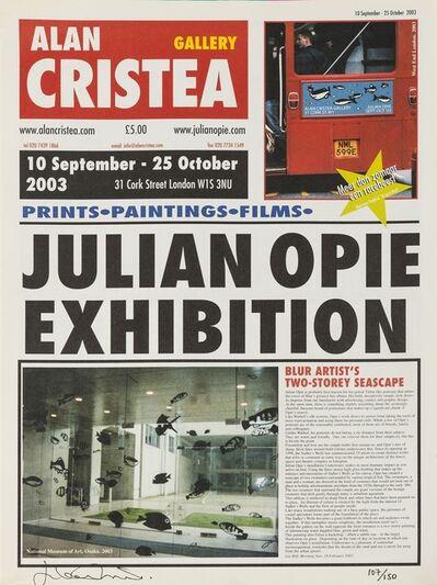 Julian Opie, 'Tabloid Newspaper', 2003