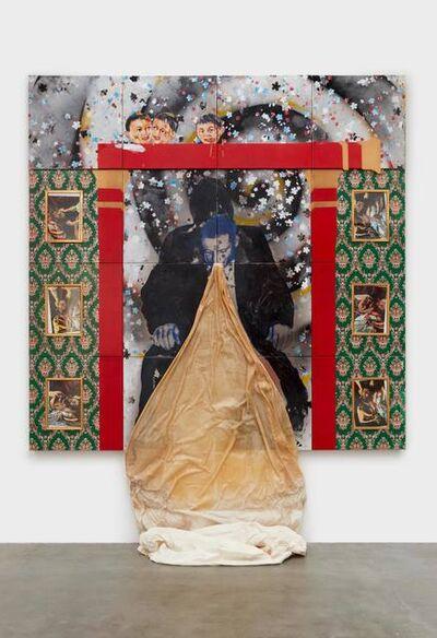 Tadanori Yokoo, 'Ectoplasm (In Dedication to Caravaggio)', 1986