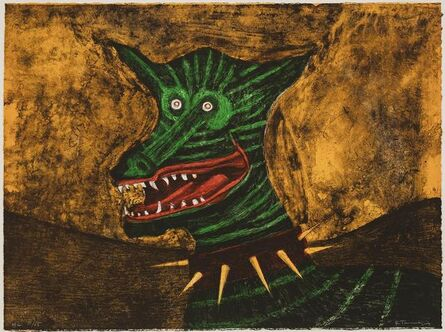 Rufino Tamayo, 'Chacal (Jackal)', 1972-1973