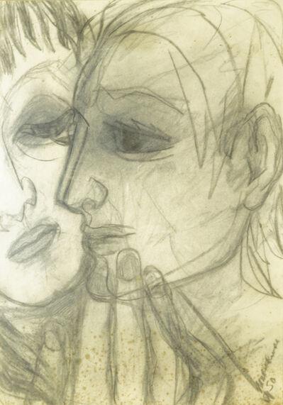 Marika Rivera, 'Portrait profiles of two people'