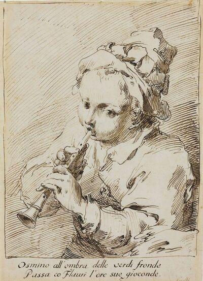 Pietro Antonio Novelli, 'The little flute player'