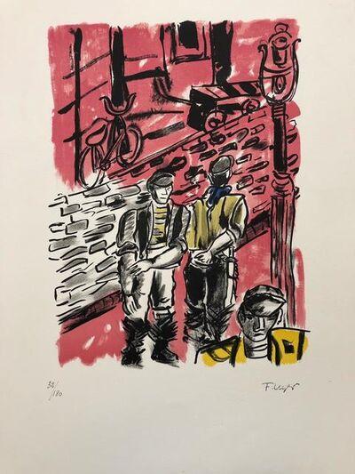 Fernand Léger, 'La rue de Dantzig', 1959