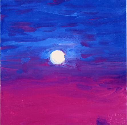 Ann Craven, 'Moon (Manganese Moon, Cushing, 8-30-15, 9:33PM), 2015', 2015