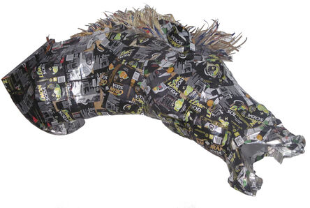 Mariano Pieroni, 'Horse head', 2020