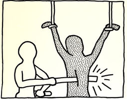 Keith Haring, 'The Blueprint Drawings', 1990