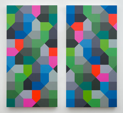 Andrew Huffman, 'Ascending Swimming Hole (diptych)', 2020